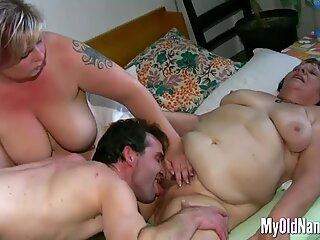 Granny Loves Threesome