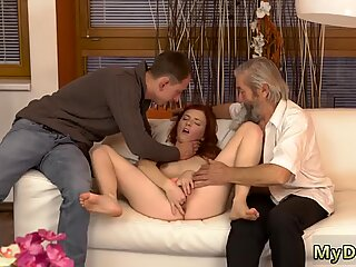 Father and playmate s daughter xxx Unexpected practice with an older gentleman