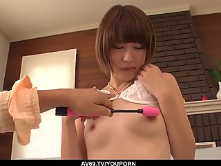Sexy foreplay leads Seira Matsuoka to a great fuck - More at 69avs.com