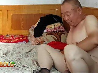 chinese grandfather providing it all to grandma
