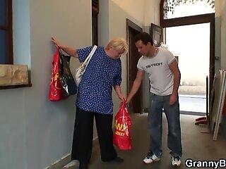 He lightly seduces old grandma