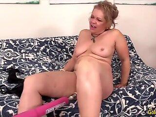 Golden Slut - Mature Women Vs Fucking Machines Compilation 6