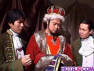 Rough group fuck royally