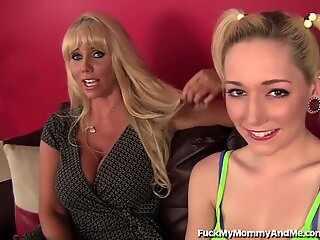 red-hot mother Brings Her teen Daughter Into Porn