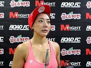 Pretty mma fighter interview