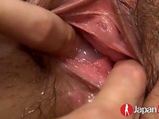 JAPAN HD Squirting Japanese Pornstar gets a C