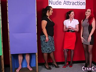 Cfnm mistress sucking