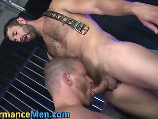 Fetish machomen jizz hard