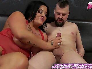 German Big Boobs Brunette Milf Get Hardcore Sex
