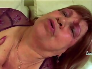 Grandmother being pounded by neighbour