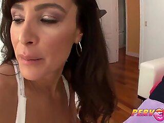 PervCity Lisa Ann Oily butt-banging