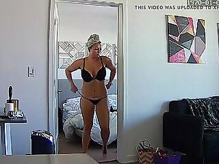 Adult Blonde Milf Mommy Momma Nude - Broken into IP Camera