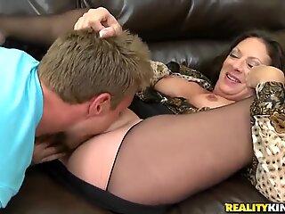 Handsome guy picks up and fucks horny milf