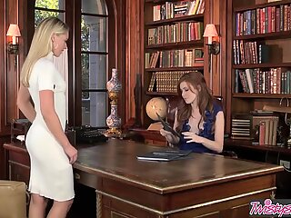When Girls Play - Elle Alexandra , Lena Nicole - What Are Assistants For