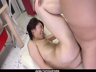 Skinny Mizuki Tsukamoto rides it until exhaustion - More at 69avs.com