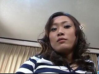 The Japanese porn model loves adult pranks. At a party she fucked two guys at once.