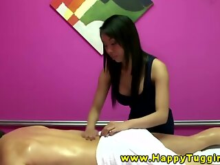 japanese masseuse gives additional services