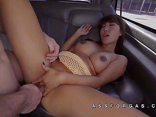 Tiffany Rain asian pussy white cock sex