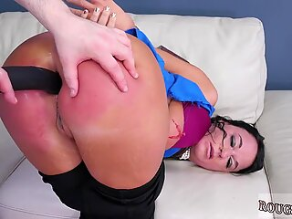Rough punishment and extreme hairy Fuck my ass, poke my head EXTREME!
