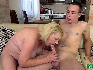 Naughty grandma getting fucked