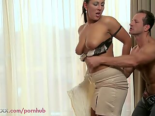 mommy cougar can't get enough of his fuckpole