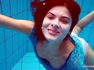 Marusia underwater mermaid hot redhead