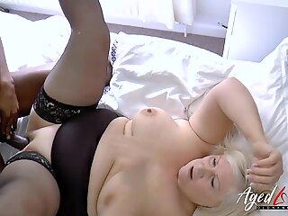 AgedLovE Lacey Starr hardcore interracial fuck
