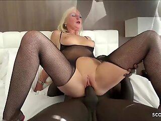 First Time BBC for German MILF Kacy Kisha No Condom Fuck