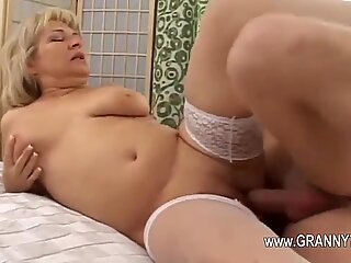 Extremely hot mature fuck hard