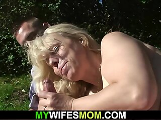 he caught playing with busty girlfriends blonde beautiful milf