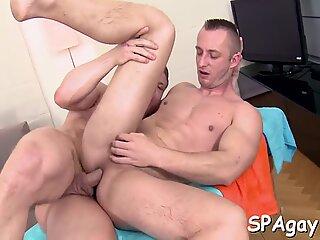 Wild anal gratifying