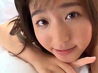 Pretty Japanese model in Bikini