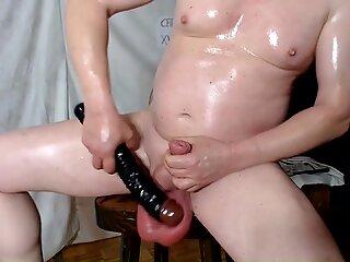 CBT-Naked punching,slapping&amp_busting (verification 3)