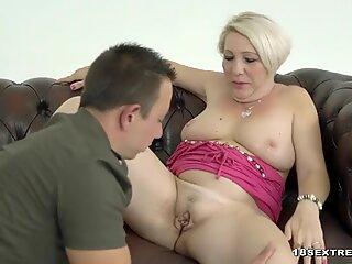 Cock loving granny