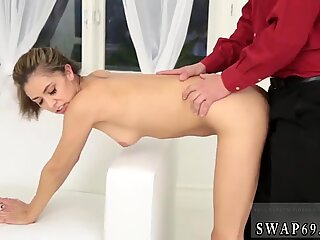 Mother companion s daughter strap on The Stretch And Swap