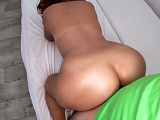 Mom and son have anal sex. Mature mom with big ass