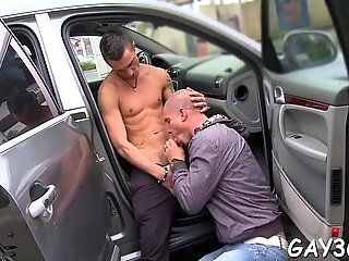 Sometimes so naughty gay boy-friend gets fat rod in anal hole