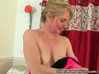 This british grandma is blessed with a high orgy drive