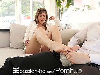 PASSION-HD Horny Agent Fucks To Sell A House