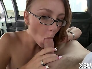 Playing with a doxy in a bus